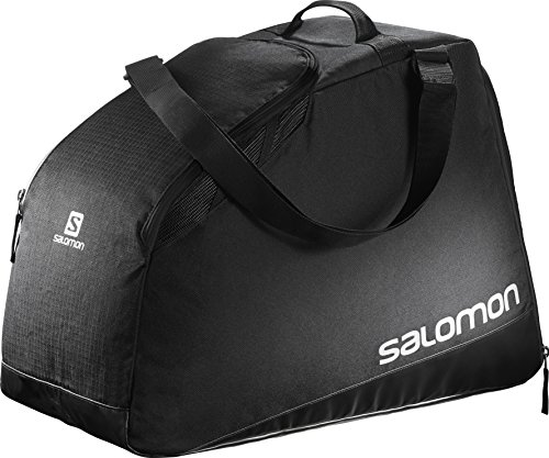 Salomon, Große Ski-Ausrüstungstasche (40 L), EXTEND MAX GEARBAG, Schwarz (Black/Light Onix), L38276200