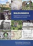 Balduinseck: Baugeschichte und Instandsetzung einer Burgruine im Hunsrück (Denkmalpflege in Rheinland-Pfalz) - Generaldirektion Kulturelles Erbe Rheinland-Pfalz