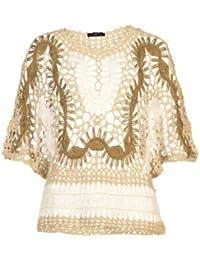 Apart Fashion - Haut manches 3/4 - beige/multicolore