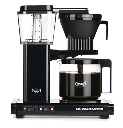 Moccamaster Filter Kaffeemaschine KBG 741 AO, 1.25 Liter, 1520 W, Black