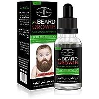 hkfv diseño creativo esencia Hombres líquido barba crecimiento rápido mejorar Facial Whiskers Nutrición ...