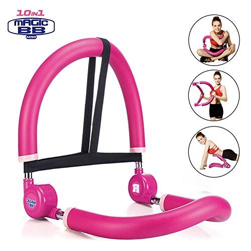 Syosin Magic BB 10 in1 Fitnessgerät für Zuhause, Bauchtrainer Beintrainer Rückentrainer und Schultertrainer in Einem