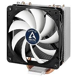 Arctic Freezer 33 - Semi-passiver Tower Cpu Luftkühler, Prozessorlüfter Für Intel Und Amd Sockel Bis 200 Watt Tdp Kühlleistung, Cooler Mit 120 Mm Pwm Lüfter - Leise Und Effizient