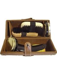 Shoe String Brown Barrel Shoe Cleaning Care Kit - Kit de cuidado de zapatos