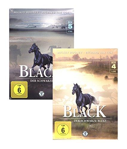 Black, der schwarze Blitz - Box 4 + Box 5 [8 DVDs]