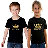 #4: ADYK Cotton Brother Sister T-Shirts Prince Princess