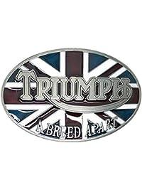 Triumph motocicleta hebilla de cinturón