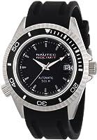 Reloj Nautec No Limit Shore de caballero automático con correa de goma negra de Nautec No Limit