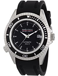 Nautec No Limit Herren-Armbanduhr Shore Analog Automatik SH AT/RBSTBKBK