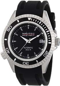 Nautec No Limit Herren-Armbanduhr Shore Analog Automatik SH AT/RBSTBKBK