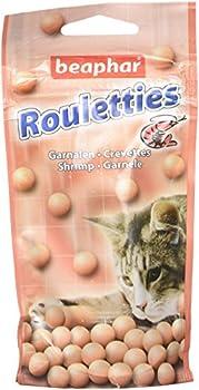 Beaphar - Friandises Rouletties aux crevettes - chat - 44,2 g
