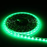 IAGM LED Strips SMD3528 Waterproof LED Lights with 5M 300LED 12V Flexible Soft Light Strip Phone Jewelry Counter Lighting , C
