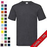Valueweight T-Shirt von Fruit of the Loom S M L XL XXL XXXL verschiedene Farben Bild