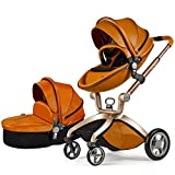 Hot Mom Kombikinderwagen und Buggy Sportwagen 3-in-1 Travelsystem 2016 Fashion mit Kinderwagenaufsatz