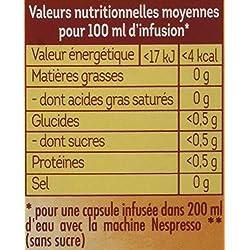 Lipton, Infusion aromatisée, Digestion, Capsules Compatibles Nespresso (Lot de 8 x 10 Capsules)