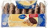 Bahlsen Contessa würzige runde Lebkuchen mit Schokoboden - lecker mit edelherber Schokolade - kleiner Snack für zwischendurch, 200 g