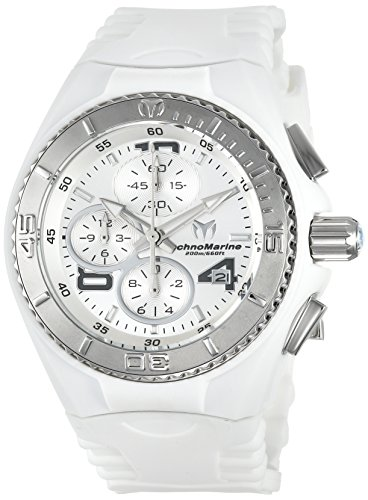 TECHNOMARINE WOMEN'S CRUISE JELLYFISH 40MM WHITE SWISS QUARTZ WATCH TM-115102