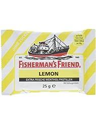 Fisherman's Friend Lemon Multipack mit 3 Beuteln Zitrone und Menthol, 75 g