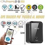 Tracker Tracciatore di posizione Satellitare Gps auto/moto spia con registratore vocale magnetico app