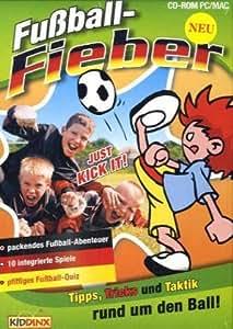 Fußballfieber, 1 CD-ROM Tipps, Tricks und Taktik rund um den Ball. Für Windows 98/2000/ME/XP und MacOS 9 oder höher und MacOS X ab 10.1 oder höher. Packendes Fußballabenteuer. 10 integrierte Spiele. Pfiffiges Fußball-Quiz