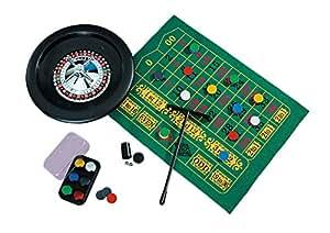 Jeu de roulette de casino las vegas diam. 25 cm et accessoires