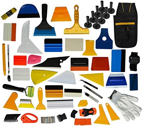 Preisvergleich Produktbild Ehids Professional Window Film Vinyl Wrap Kit Inklusive Alle Werkzeuge Vollständige Squeegees, Schaber, Schneider, Halter, Werkzeugtasche