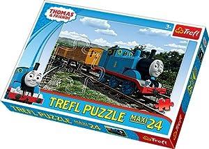 TREFL - Puzzle Thomas y Sus Amigos de 24 Piezas (39.8x26.6 cm) (TR14126)