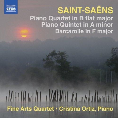 Saint-Saens: Piano Quartet in B flat major, Piano Quintet in A minor, Barcarolle in F major by Cristina Ortiz (2013-03-26)