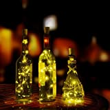 #10: XERGY Battery Powered Bottle Lights (Warm White, Pack of 2)