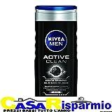Nivea Dusche Men Active Clean 250ml, 3Stück