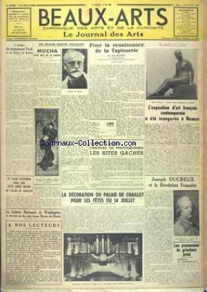 BEAUX-ARTS [No 342] du 21/07/1939 - A PROPOS DU MO...