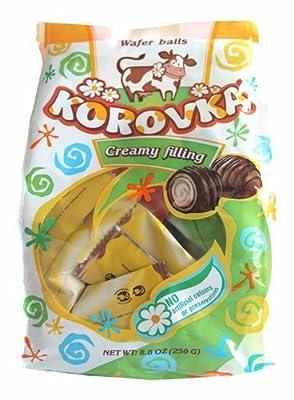 Korovka Konfekt mit Milchcreme-Waffelfüllung, 6er Pack (6 x 250 g)