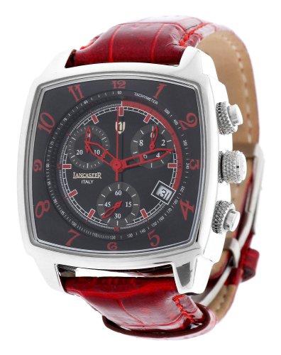 Lancaster–Reloj unisex cronógrafo Rojo 0262srr