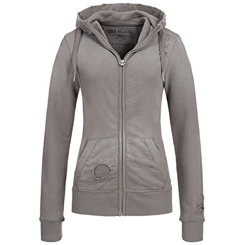 Sweatjacke - CASTLE ROCK Grau