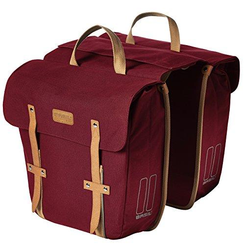 Basil Gepäckträgertasche Portland-Slimfit Double Bag