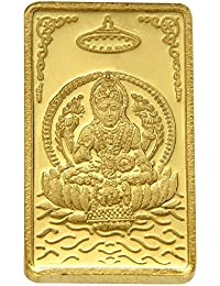TBZ - The Original 15 gm, 24k(999) Yellow Gold Laxmi Precious Coin