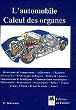 L'automobile : Calcul des organes