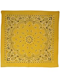 Alsino Bandana Zandana Kopftuch Halstuch verschiedene Muster 100% Baumwolle