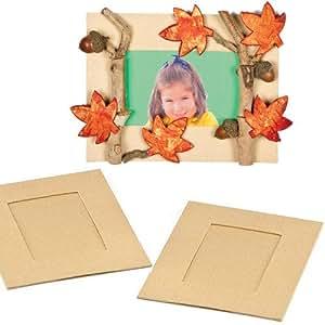 Portafoto Fai Da Te per Bambini da Creare Personalizzare ed Esporre come Idea Creativa (confezione da 4)