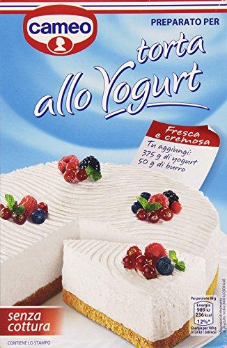 Cameo - Preparato per Torta allo Yogurt, senza Cottura - 280 g