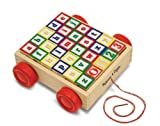 Best Wooden Blocks - Melissa & Doug Classic ABC Wooden Block Cart Review