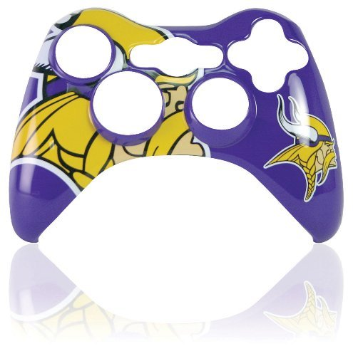 Xbox 360 Official NFL Minnesota Vikings Controller Faceplate by Mad Catz