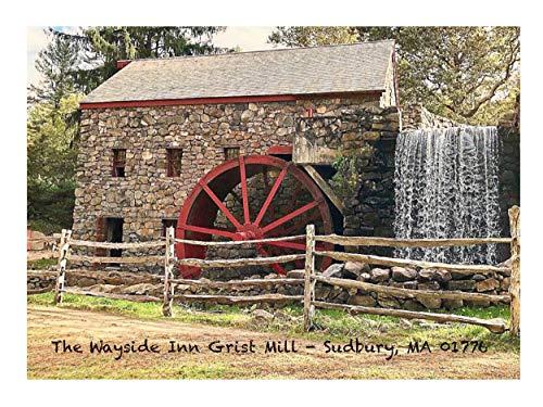 Wayside Inn Grist Mill Grußkarten, 12,7 x 17,8 cm, 5 Stück -