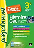 Histoire-géographie EMC 3e - Prépabrevet Cours & entraînement: cours, méthodes et exercices progressifs