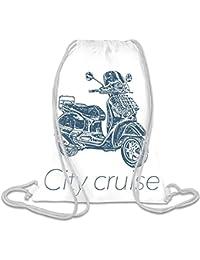 City cruiser Bolso con cordones