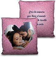 LolaPix Cojin Personalizado San Valentin con Foto. Regalos San Valentin Personalizados. Impresión Total por La