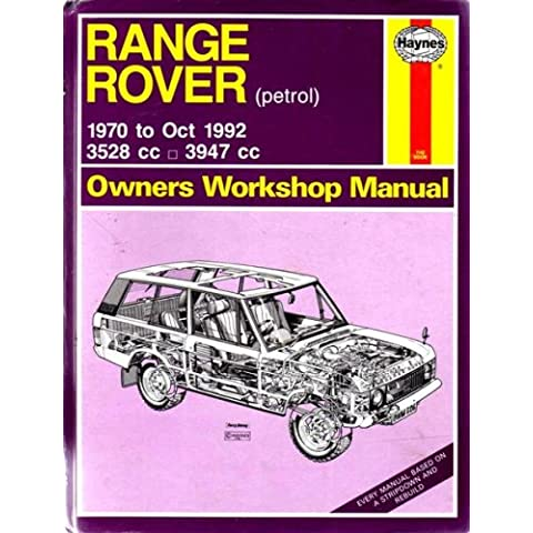 Range Rover Owner's Workshop