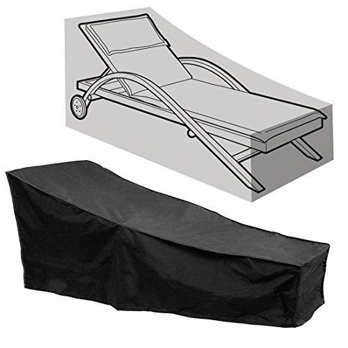 Comfysail Schutzhülle Abdeckung für Liegestuhl Sonnenliege Gartenliege Wasserfeste und...