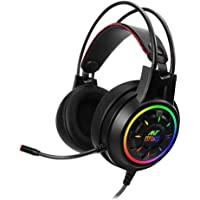 Ant Esports H707 HD RGB LED Gaming Headset for PC / PS4 / Xbox One/Nintendo Switch, Mac, Noise Cancelling Over-Ear…