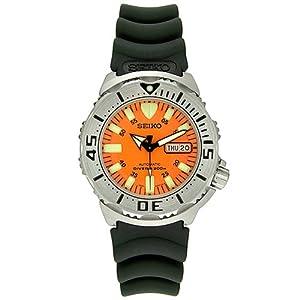 Seiko SKX781K3 - Reloj analógico automático para hombre, correa de caucho color negro de Seiko